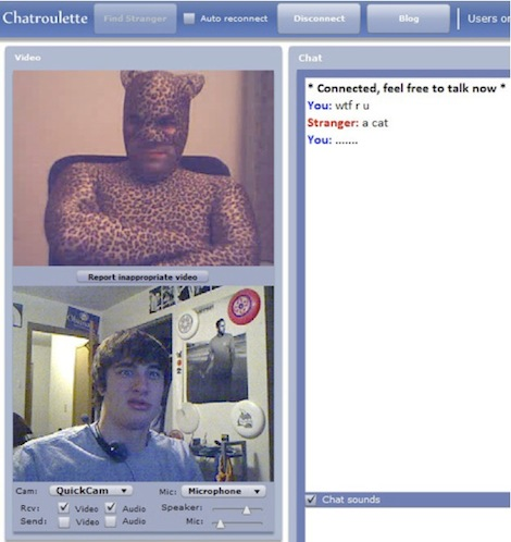 Text chat roulette
