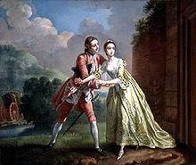Robert Lovelace Preparing to Abduct Clarissa Harlowe