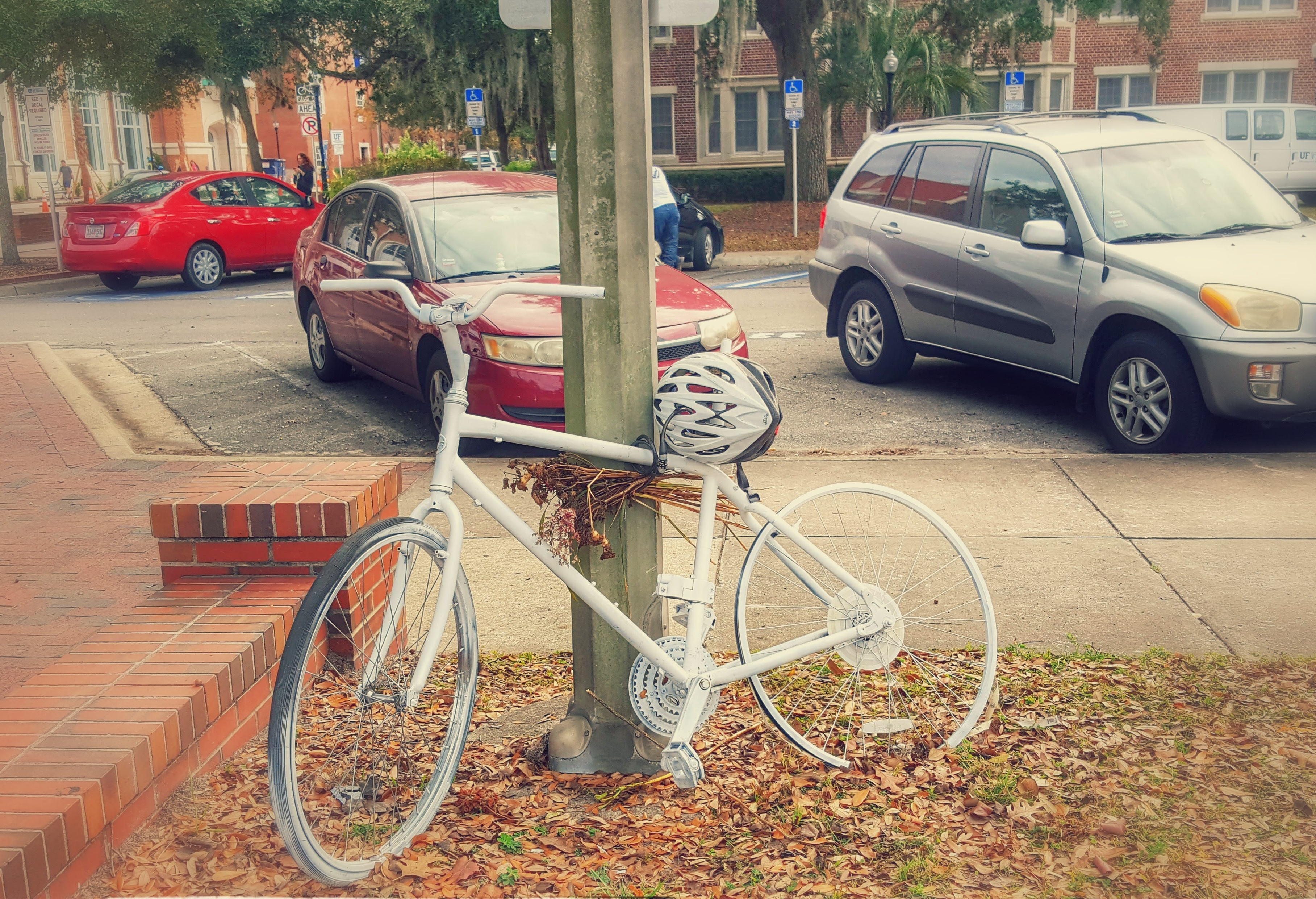 Gainesville ghost bike